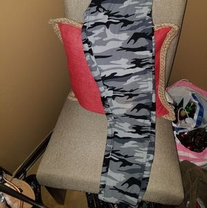 Fashion Nova Pants - High waisted Camo leggings